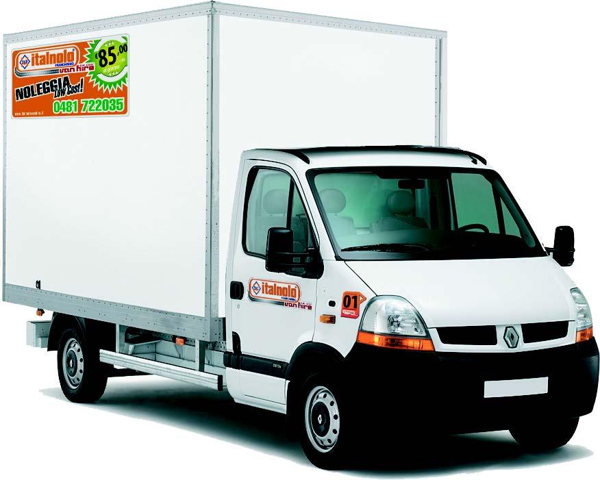 noleggio furgone XL Italnolo vanhire